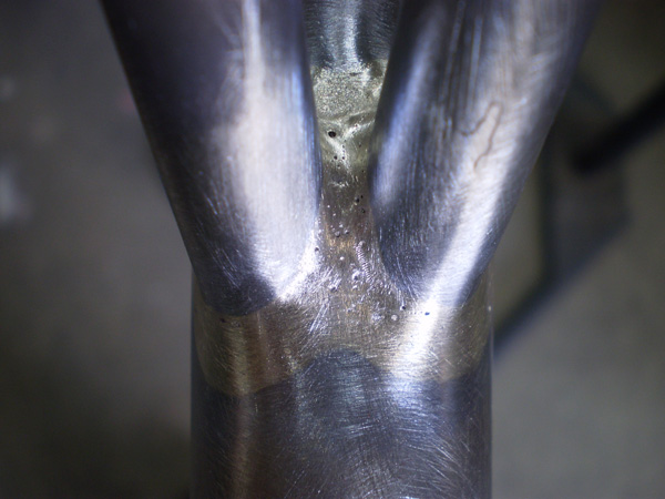 Repair cracked seat tube