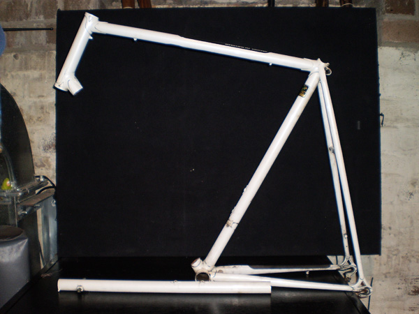 Replace cracked down tube